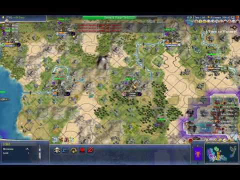 Civilization IV: Beyond the Sword - Endgame Nuking Spree