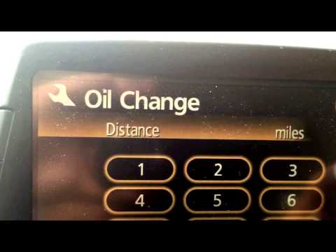 09 Toyota Prius How To Set Up Service Mode And Reset Maintenance Light
