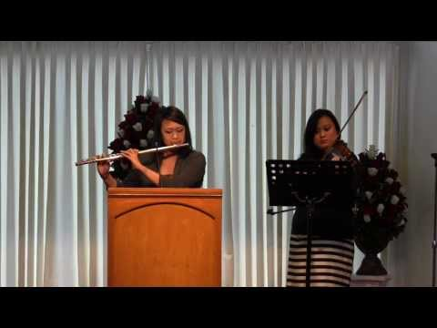 People Need the Lord - Flute and Violin