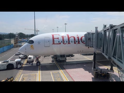 Ethiopian Airlines Business Class, Addis Ababa To London, A350-900
