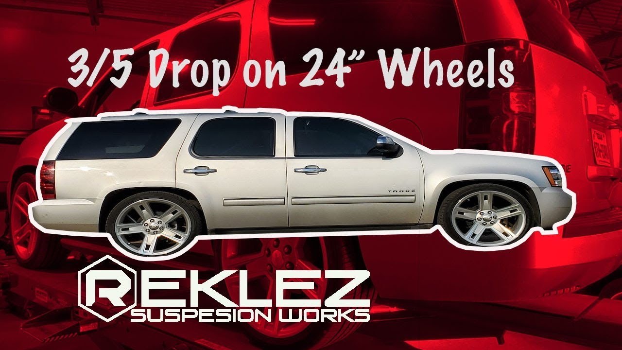 HD Suspension Yukon XL Tahoe Suburban Rear Shock Extender Lowering Drop Coil