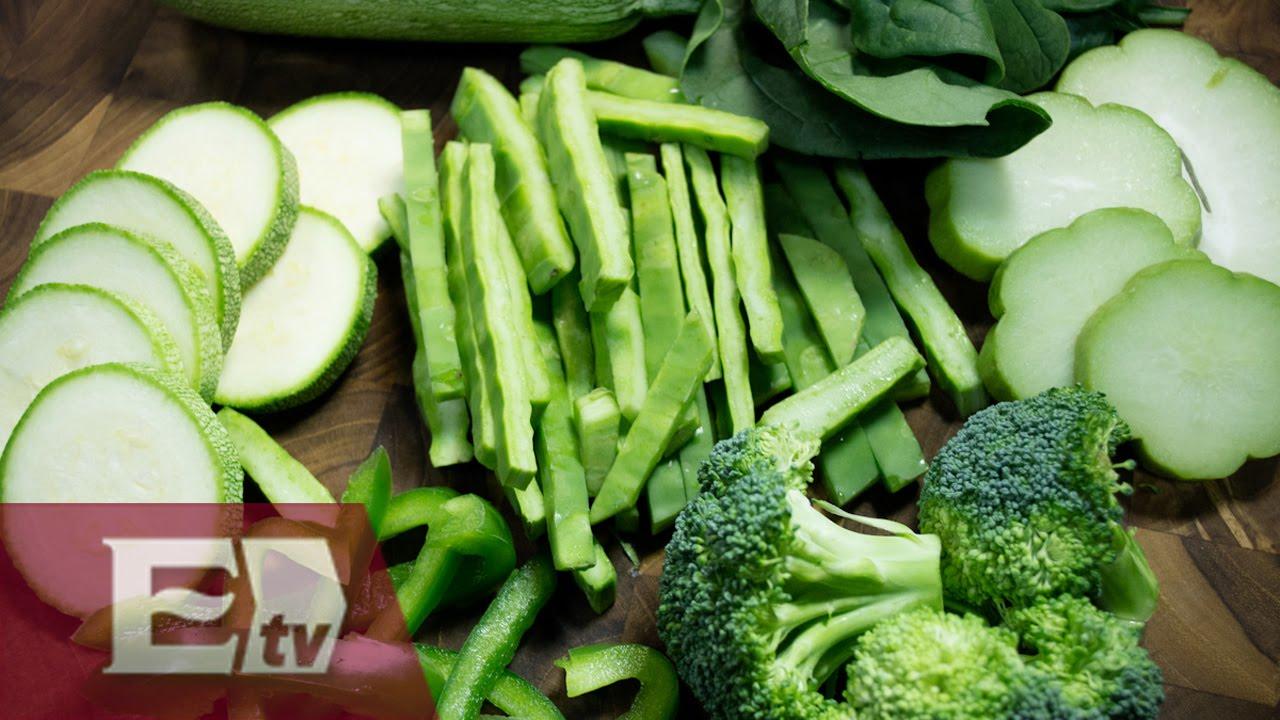 Image gallery vegetales verdes - Verduras lista de nombres ...