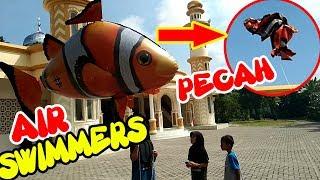 PENGEN NANGIS RASANYA AIR SWIMMERS PECAH - FLYING FISH NEMO ME…