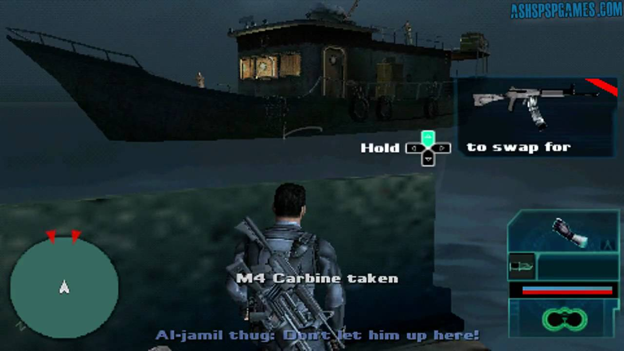 Syphon Filter Logan S Shadow Psp 01 3 Cargo Hold