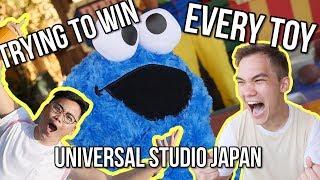 BIG WINS at Universal Studio Japan - Arcade Ninja