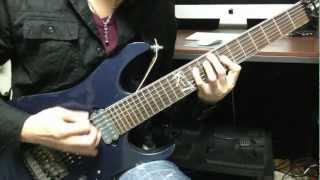 Geist of Trinity - Ibanez 7 string demo(High Gain Metal- Bridge)Comparison