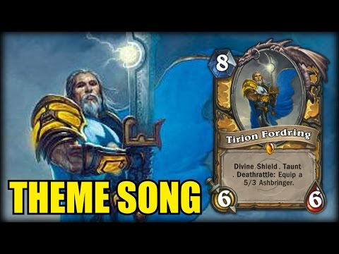 Tirion Fordring Theme Song - Hearthstone Music