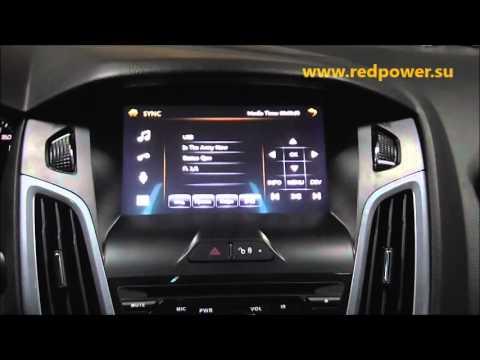 Штатное головное устройство Ford Focus 3  Redpower 12150