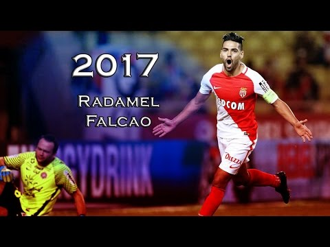 Radamel Falcao ● | El Tigre | ● Amazing Goals | ● Mónaco ● 2016/17 | HD