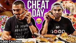 Cheat Day with Nathan Figueroa | Wicked Cheat Day #24 | (9,000 calories)