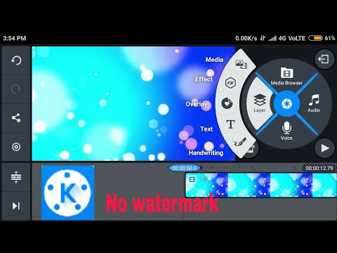 Download Blue KineMaster Pro On Your Mobile