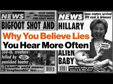 Download Youtube: Why You Believe Lies You Hear More Often | Derek Thompson