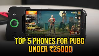 Top 5 Phones for PUBG under 25000 in June 2020 | Best Phone for Gaming under 25000