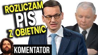 Zobacz Ile % Obietnicy Wyborczych Spełnił PIS - Analiza Komentator Polityka 2019 500+ Pieniądze PL