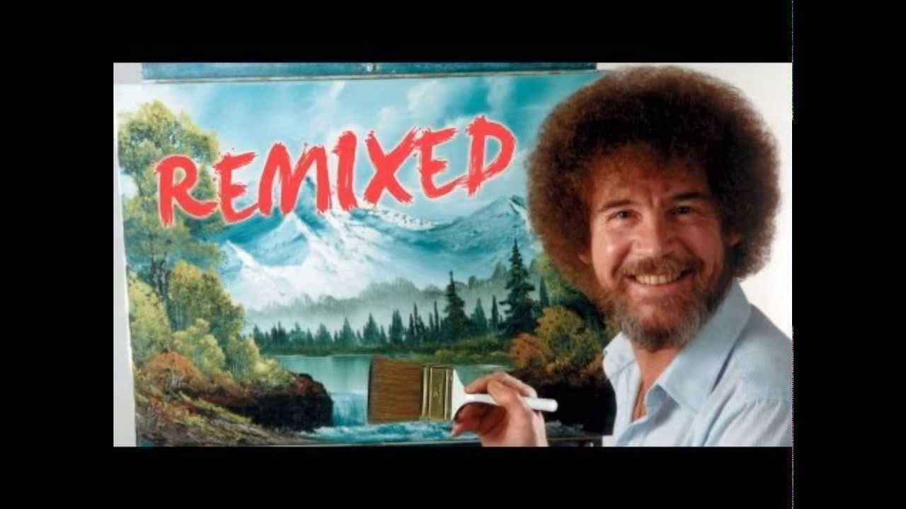 Bob Ross Remixed Happy Little Clouds Complete Song Youtube