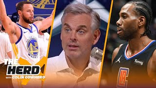 Clippers are terrified of Lakers, Steph Curry is greatest shooter in NBA history —Colin | THE HERD