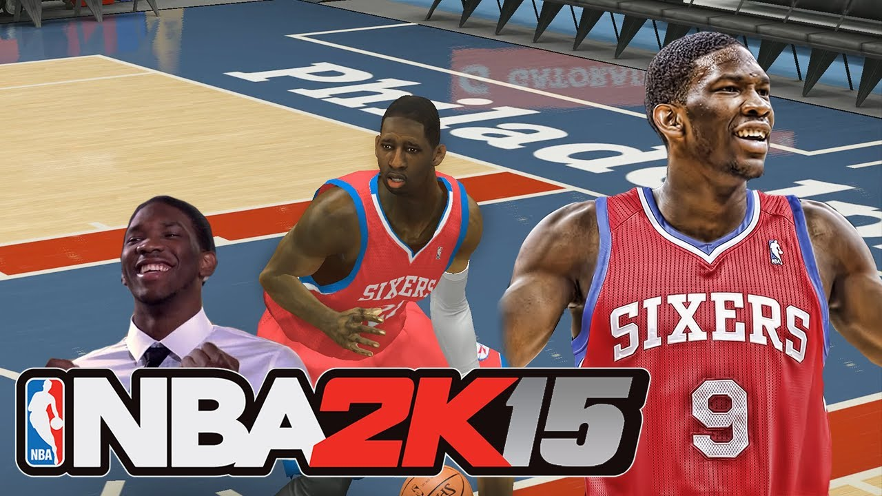 NBA 2K15 JOEL EMBIID ROOKIE PREVIEW! Modded NBA 2K14 ...