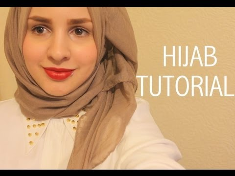 Hijab tutorial (show off your collar/necklace) | Safiyahhh - YouTube