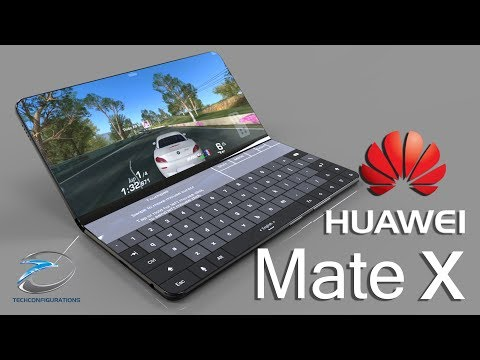 Huawei Mate X Foldable Smartphone Introduction Concept, Based on Patent Documents