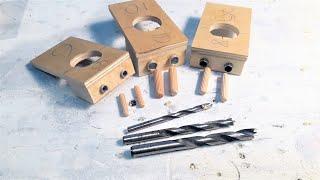 Кондуктор для шкантов DIY / Conductor for DIY dowels
