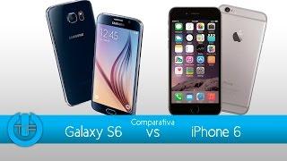 Comparativa Galaxy S6 VS iPhone 6, Cual es mejor????
