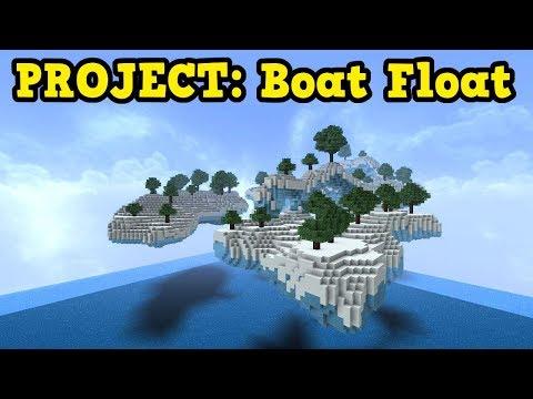 Minecraft Aquatic Update - Blue Ice + Boats = Insanity - YouTube