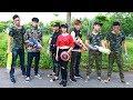 Superhero Action Two Sisters SWAT Nerf Guns Kidnapper Good Man Rescue Cute Girl Nerf War