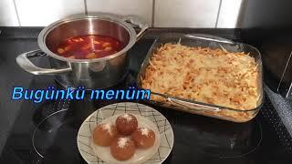 Bugün ne pişirsem(Ramazan 11.gün iftar menüsü için fikir olsun)