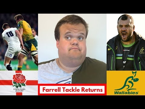 England vs Australia 2018 RECAP: Farrell Tackle Returns