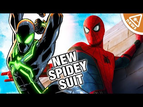 First Look at Spider-Man's New Suit in Far from Home! (Nerdist News w/ Jessica Chobot)