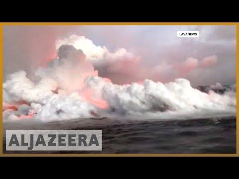 🌋 Hawaii: residents warned over Kilauea volcano fumes | Al Jazeera English