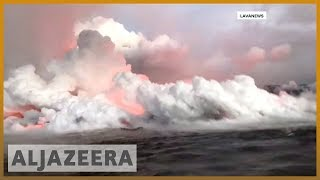 🌋 Hawaii: residents warned over Kilauea volcano fumes | Al Jazeera English
