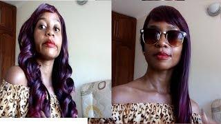 Kupasi Wig / weaving  kwa kutumia maji ya moto (how to strengthen synthetic wig without heat)