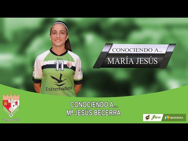 Liga #RetoIberdrola 19/20: #ConociendoA... María Jesús