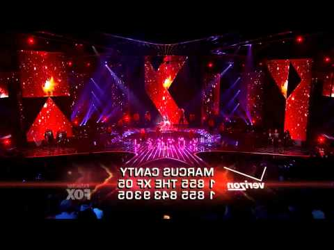 X Factor USA - Marcus Canty - PYT (Pretty Young Thing) - Live Show 6 .mov