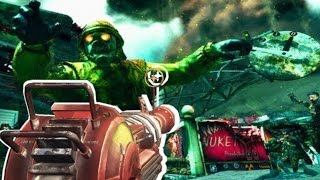 NUKETOWN ZOMBIES REIMAGINED, NEW AREAS! Call of Duty BO2 Map Remastered Gameplay