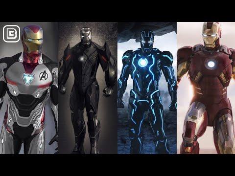 13 Strongest Iron Armors In MCU Till Avengers Endgame In Hindi | BlueIceBear