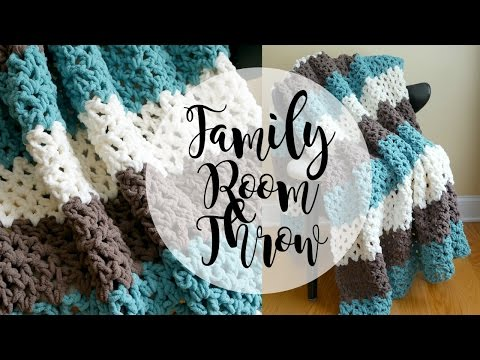 How To Crochet the Family Room Throw, Episode 334