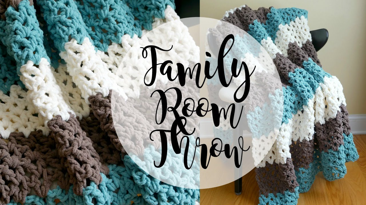Family Room Throw Crochet