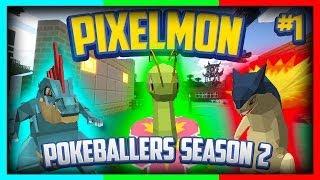 Pixelmon Server Pokeballers Adventure Season 2 Episode 1 - 2nd Region Now Open!