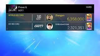 Superstar JYP: GOT7-Prove It (HARD MODE)