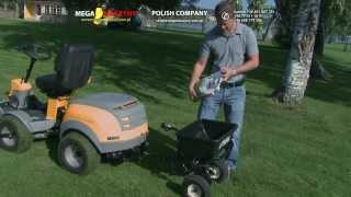 Rozsiewacz rozrzutnik STIGA do traktorków ogrodowych