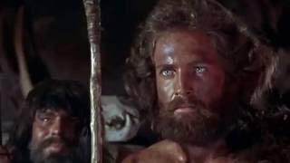 "Scene from ""One Million Years BC"" (1966) Raquel Welch vs Martine Beswick"