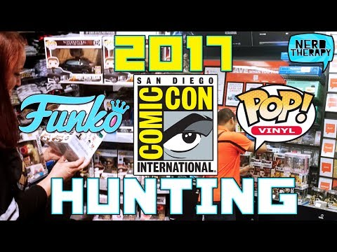 SDCC 2017 Funko Pop Hunting
