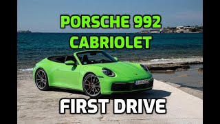 Porsche 911 992 Cabriolet: first drive review