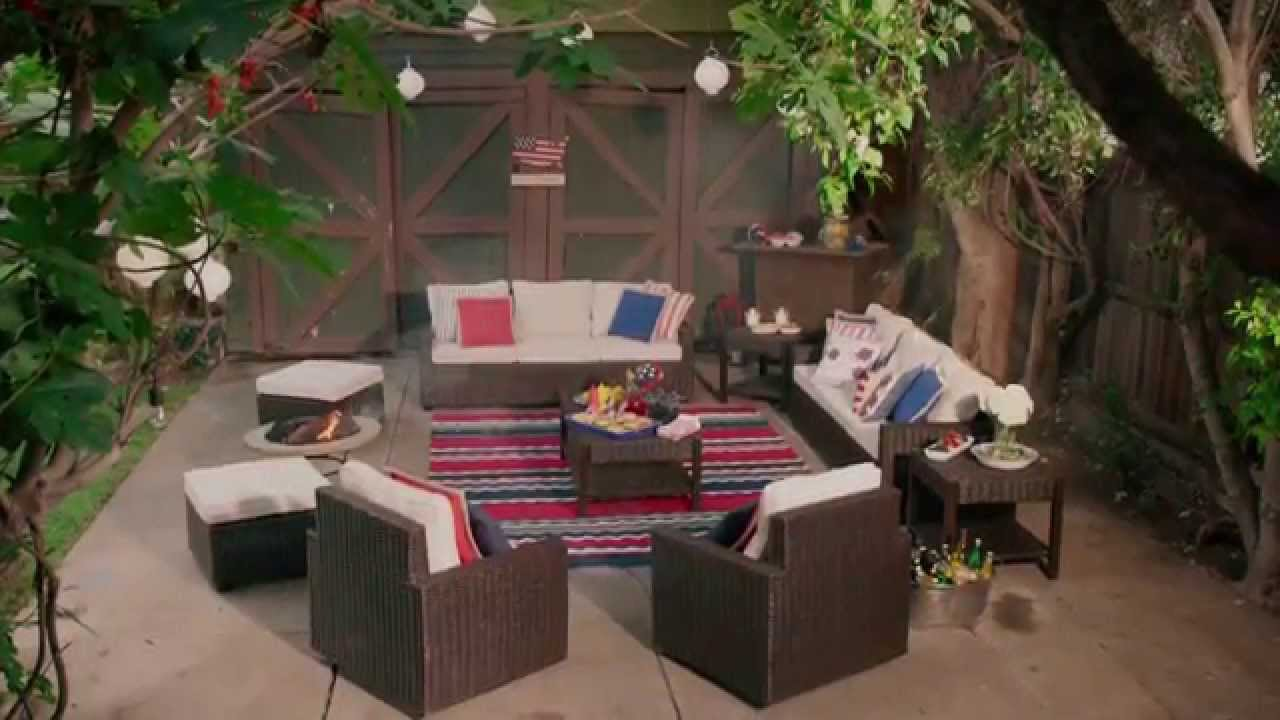 Pier 1 Imports: Host A Festive Americana Themed Outdoor BBQ