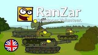Tanktoon: Volunteer. RanZar.