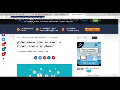 Cómo hacer una newsletter sencilla y efectiva en menos de 15 minutos