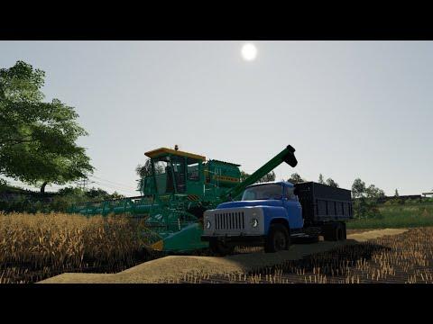 "Farming Simulator19. Карта ""Та самая"". Стрим-тест-кооп. №4"