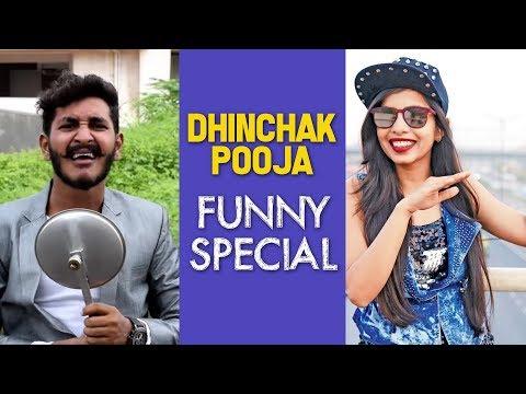 Dhinchak Pooja Funny Special    Chetan Lokhande